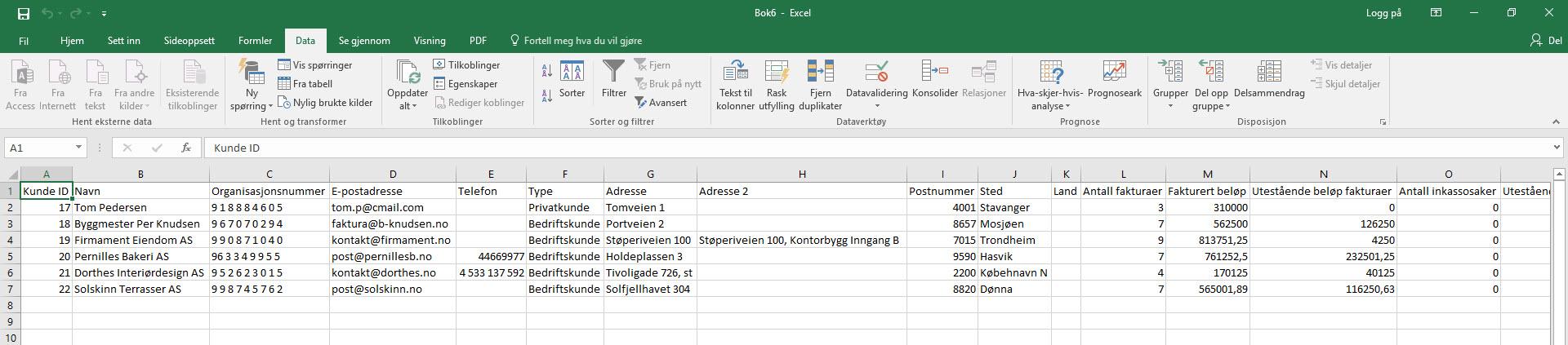 Excel-illustrasjon 4