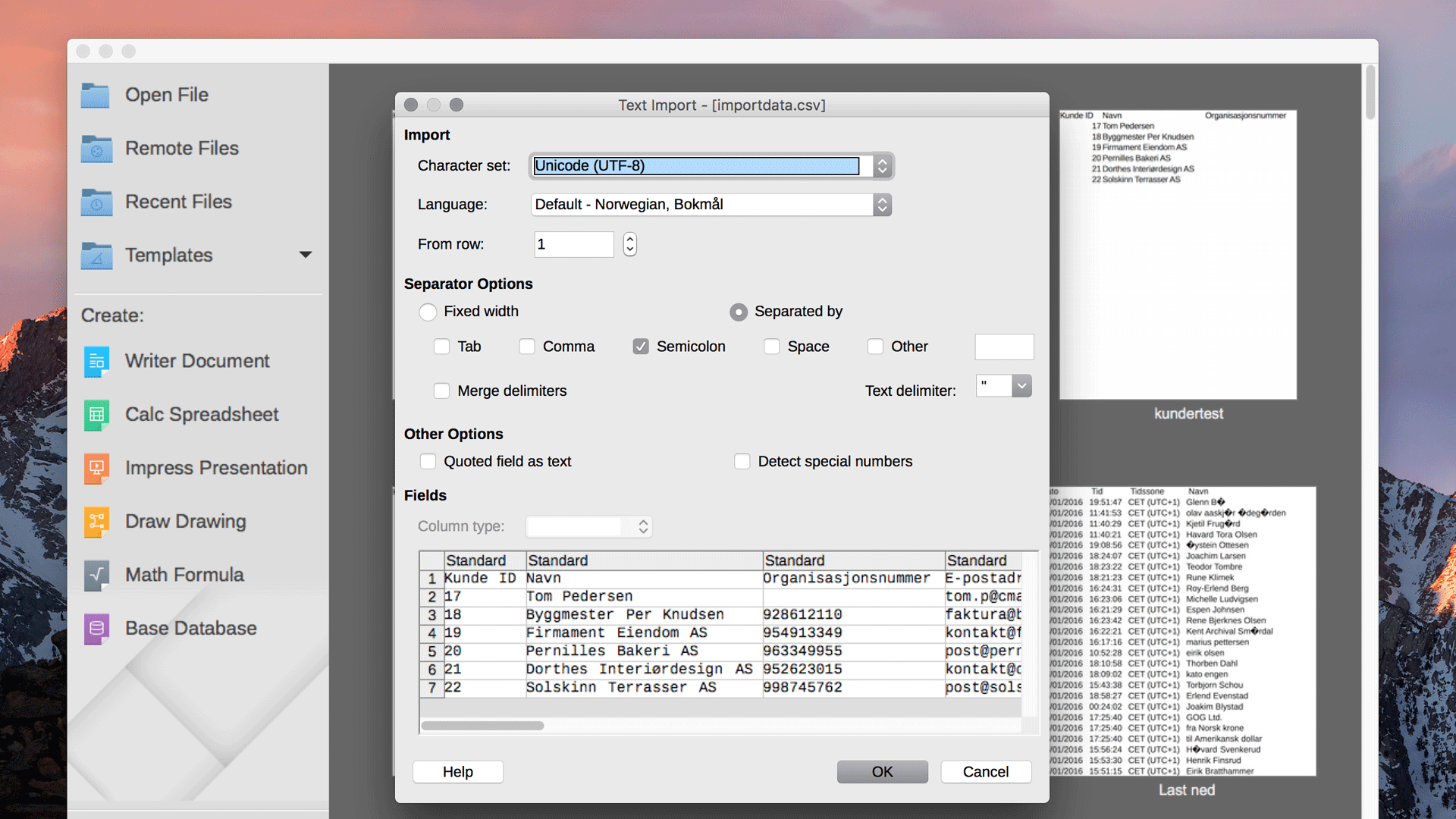 LibreOffice-illustrasjon